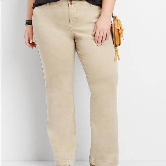 Maurices Pants - Maurice's size 22 Regular Khaki Bootcut Chinos